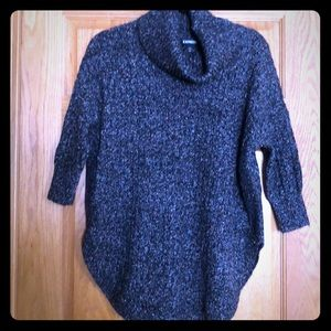 Express cowl neck sweater sz small